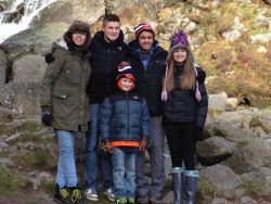 My beautiful family, cousins Matt, Megan and Ethan, and my bro Josh