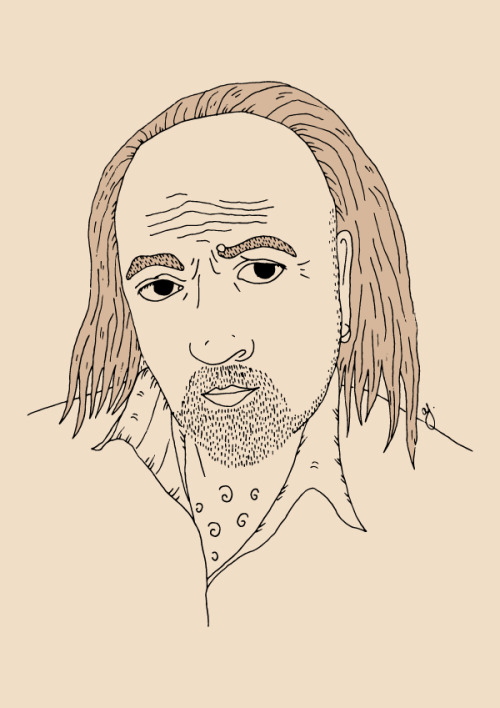 Illustration of Manny from Black Books