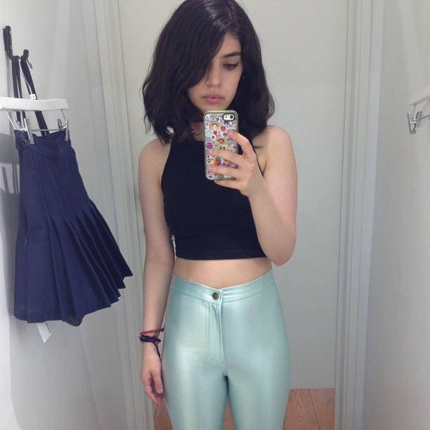 Dreamiest pants from @americanapparelusa!!! (I didn't buy them) (I'm sad about it)