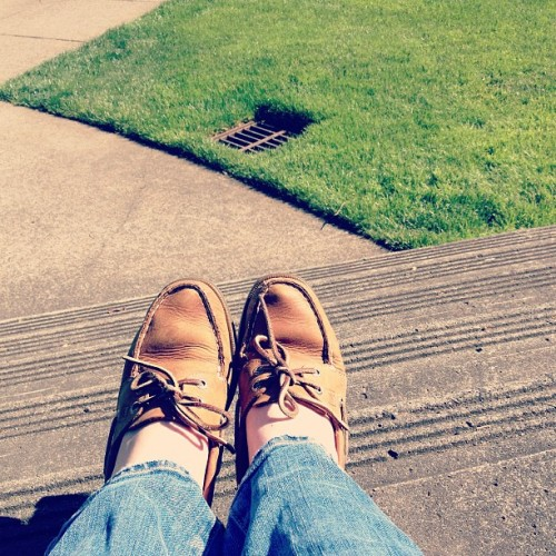 My sperrys are ready for summer! #sperry ☀❤🌴 (at Franz Hall)