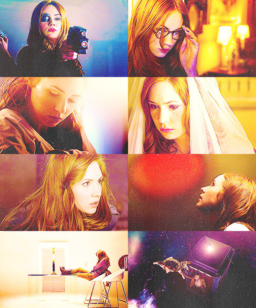 "favorite characters color meme - 2/15 -> Amy Pond, Doctor Who ""You know when sometimes you meet someone so beautiful — and then you actually talk to them and five minutes later they're as dull as a brick; but then there's other people. And you meet them and you think, ""Not bad, they're okay,"" and when you get to know them … their face just, sort of, becomes them, like their personality's written all over it, and they just — they turn into something so beautiful. Rory's the most beautiful man I've ever met."""