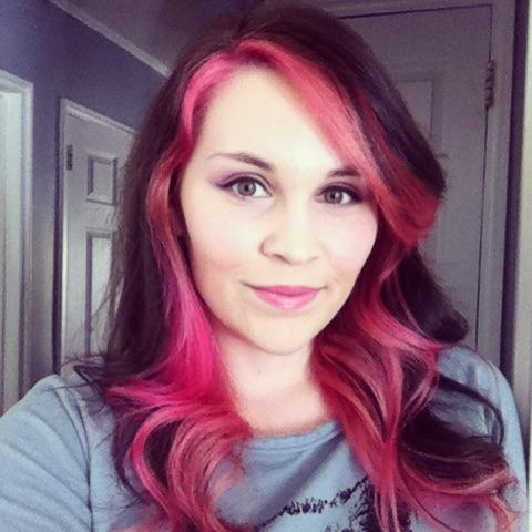 Cupcake Pink. I added Pink to my hair last week and I'm really loving how it turned out!