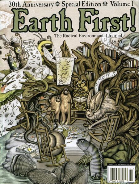 earthfirstjournal:  Wild & Queer Ecologies  by Russ McSpadden / from the 30th Anniversary Edition of the Earth First! Journal, Vol. I, 2010 Wi…  View Post  -wags tail-