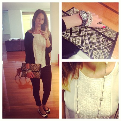 In black and white today… #ootd