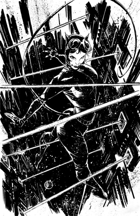 Catwoman by Matteo Scalera.