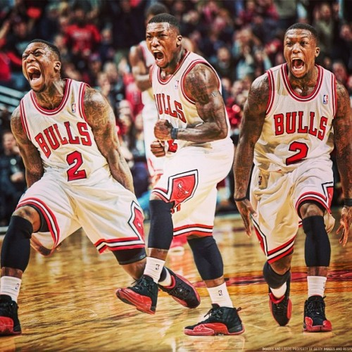 therealmza:  Killin that heat!! #stateofnate#naterobinson#bulls#chicago#fuckmiami