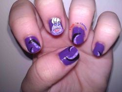 Ursula nails from October.