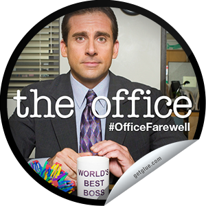 I just unlocked the The Office: The Office Retrospective sticker on GetGlue                      5208 others have also unlocked the The Office: The Office Retrospective sticker on GetGlue.com                  You're watching a retrospective of The Office. Thanks for tuning in tonight! Stay tuned for the series finale of The Office next! Share this one proudly. It's from our friends at NBC.