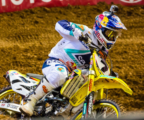Phoenix. Supercross. 2013. James Stewart here …