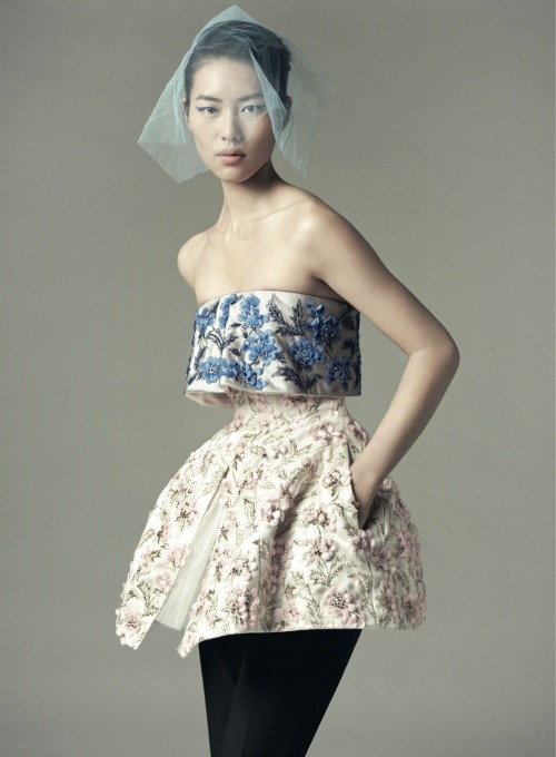 Liu Wen in Dazed and Confused december 2012