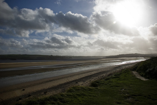 Sea and Landscape, Braunton Burrows, England by Ravages on Flickr.