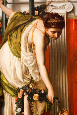 "tierradentro:  Detail from Edward John Poynter's ""The Festival"", 1875. (via)"