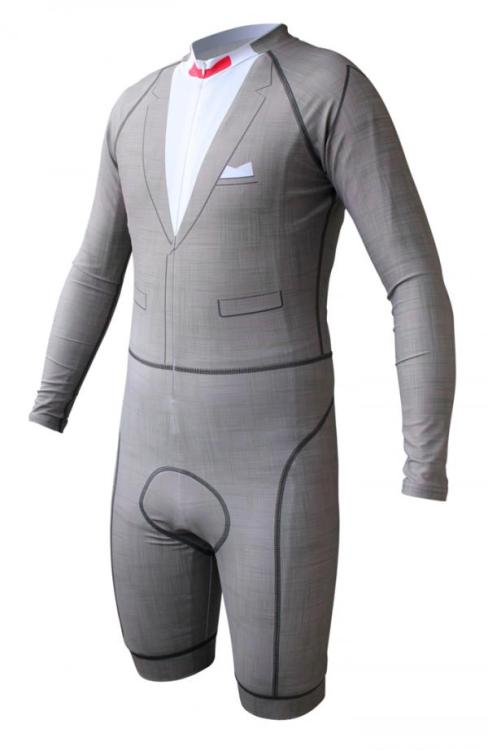 peeweesplayhouse:  The Pee-wee Inspired Bicycle Skinsuit by Podium Bicycling. Available HERE.   never before have i been so tempted to lift my ban on spandex bike gear