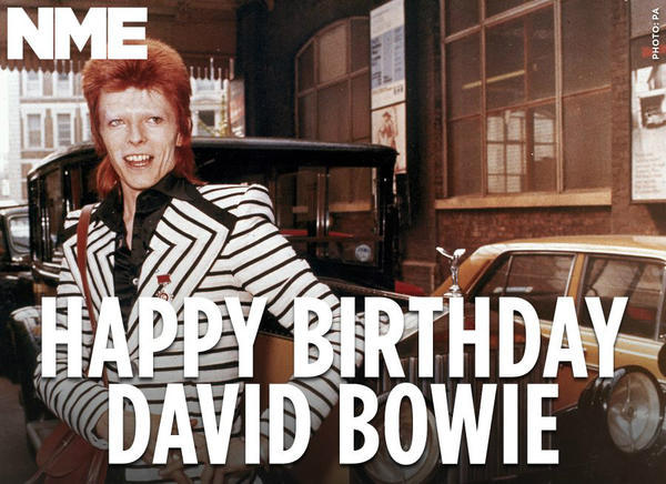 David Bowie - Happy 66th birthday