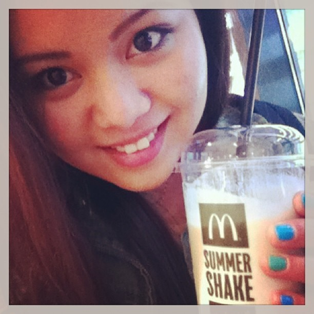 #yummy #coffeshake #mcdonalds #summershake #imlovinit 😋❤