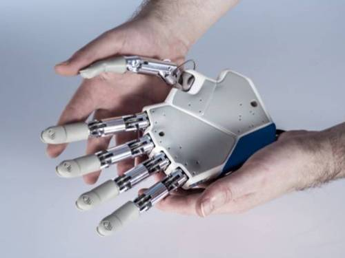 londonprophecy:  sa7o:  The first bionic hand that allows an amputee to feel what they are touching will be transplanted later this year in a pioneering operation that could introduce a new generation of artificial limbs with sensory perception.  so it begins