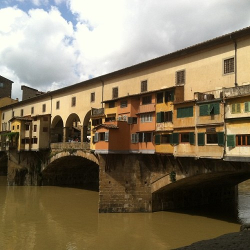 Florence's gold bridge