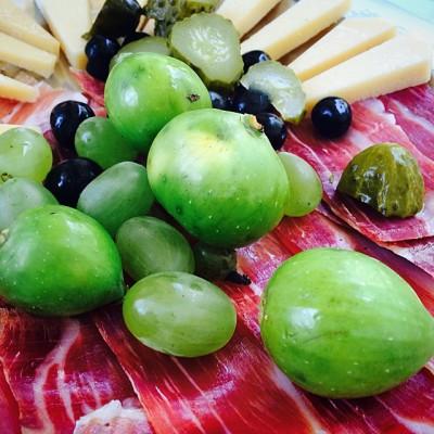 Breakfast in Croatia #sailingcollective August 29th, 2014 /// #split #breakfastforchampion #figsandprsut  (at Split Riva Croatia)