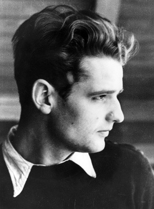 fuckyeahhistorycrushes:  This handsome man is Hans Scholl, one of the founding members of the White Rose. They were a bunch of kick-ass students and teachers who resisted the Nazi movement with non-violence. He started it with his sister Sophie and a few other students. They put graffiti all over Munich and handed out leaflets declaring Germany should be free of Nazis. Sadly, the members were captured by the Nazis. Hans was executed February 22 1943 at the age of 24. Not only was he part of a resistance group, he was gorgeous as well.