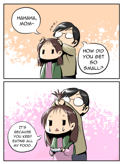 thejohnsu:  Day for Happy Mothers