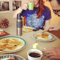 haefinn:  Best pancakes. Ugh. #nom  Miss Cfinn, always.