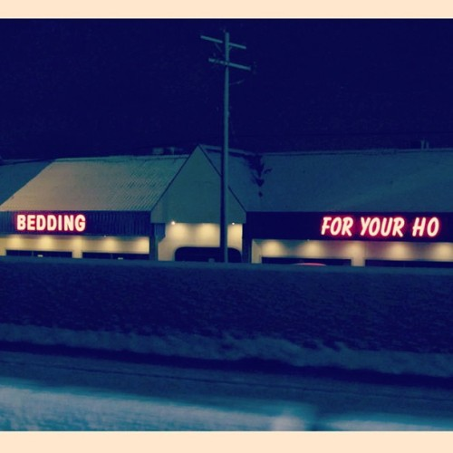 ellendegeneres:  Get bedding for your whole family, including your ho. #photos4ellen