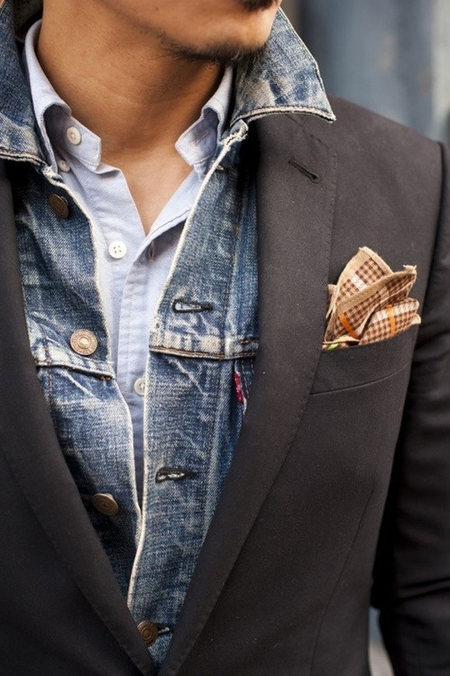 lifeistyle:  lifeistyle  Jean jacket & suit
