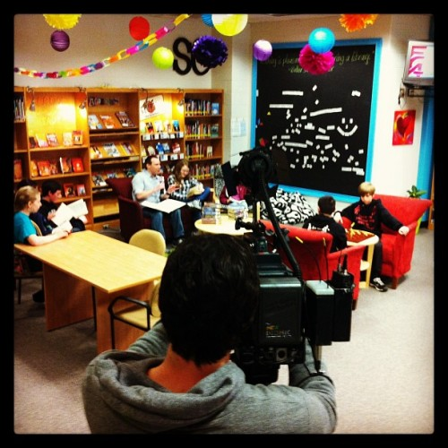 #mylibrarystory We're making the news b/c we're SO awesome! by caradona77 http://instagr.am/p/W0HCgNv55D/