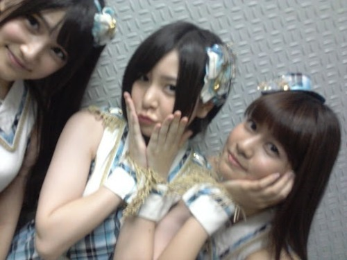 miroku48:  Annin's G+:3:34 p.m.1回目公演終わりました!ホヤホヤ!笑The first part of stage performance has ended! Just ended! lol2回目の準備するよ〜(((o(゚▽゚)o)))We're preparing for the second one〜(((o(゚▽゚)o)))