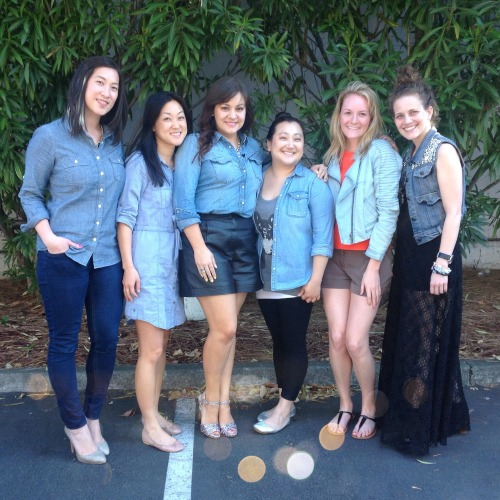 Spotted at PMHQ: Denim in six ways!