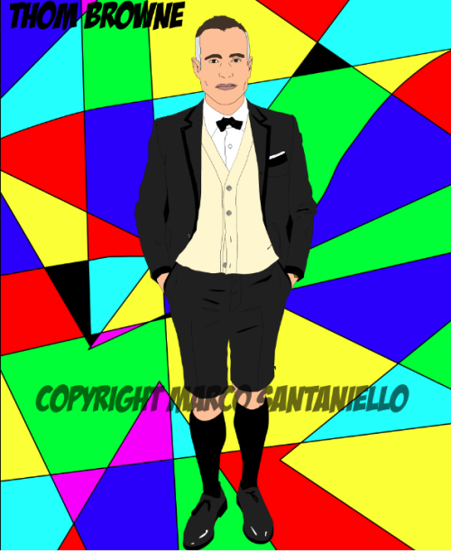 @thombrowneNY #popportrait by @superstarmix #marcosantaniello #popart #nyc