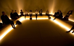 Selfridges on Oxford Street has opened The Silence Room; a place to get away from the hecticness of London/Oxford St. Apparently, the founder opened one back in 1909, too.  Take off your shoes and hand in your technological devices. And relax. [Check out 'digital detox' - this needs to happen!]  via coffeepapertrend