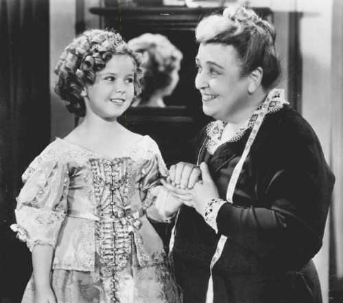 Shirley Temple and Helen Westley in Captain January, 1936.