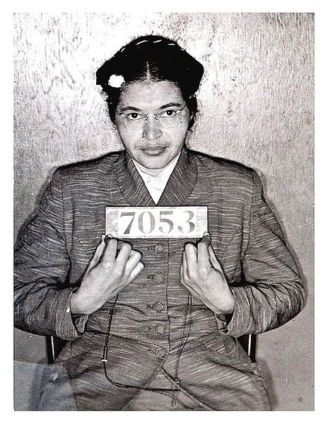 womenorgnow:  Happy Birthday Rosa Parks. May your courage continue to be an inspiration to all of us.