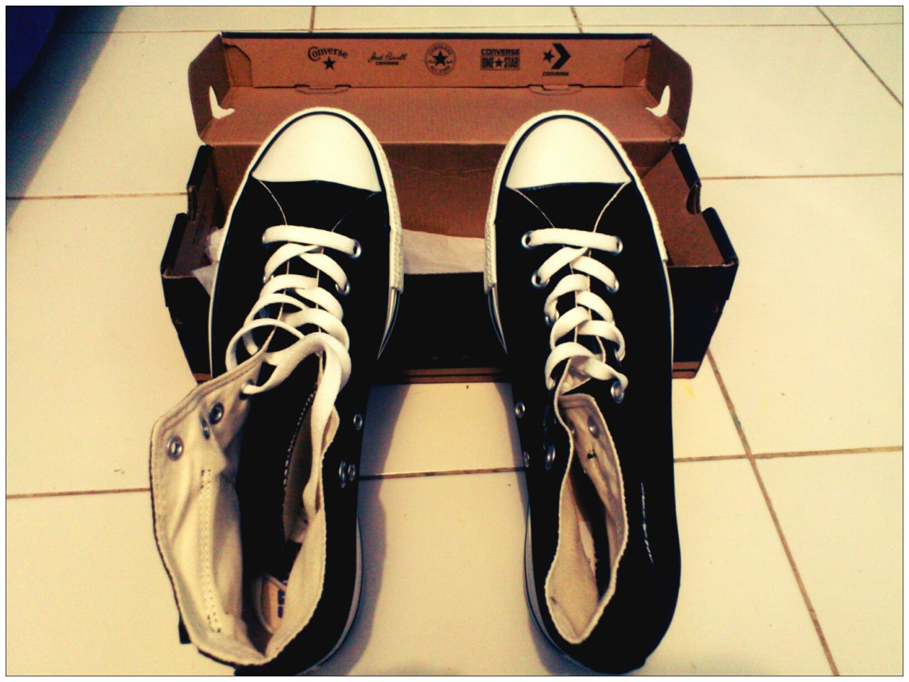 My New Shoes, CT AS Cargo Hi. I Love Converse !