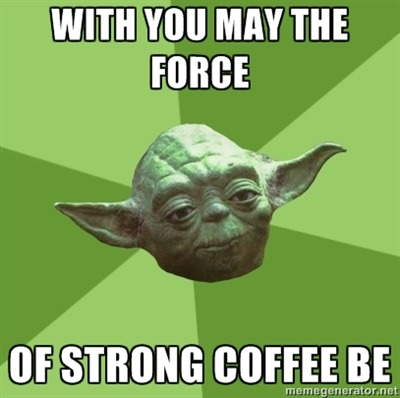 Even Yoda understands..