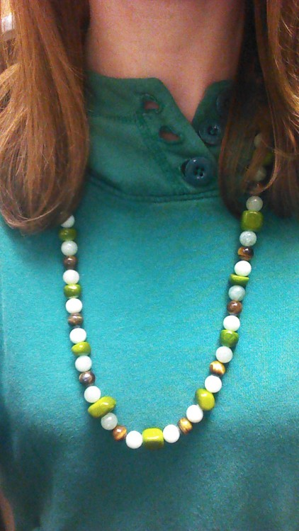 Made a necklace when I was slightly intoxicated!