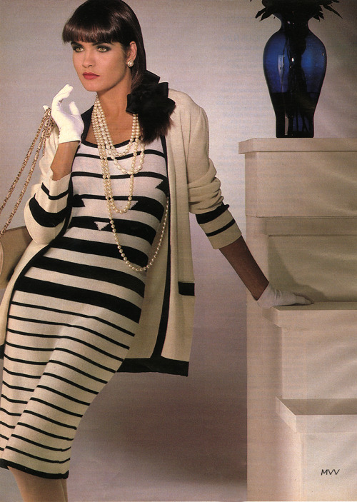 Glamour Magazine April 1986 / Chanel Conde Nast Archive
