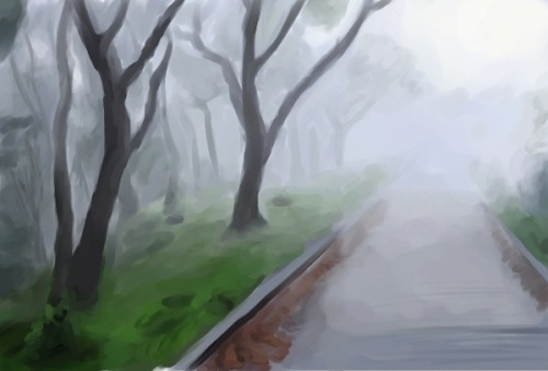1 hour study for DA-Speedpaint. Corel painter