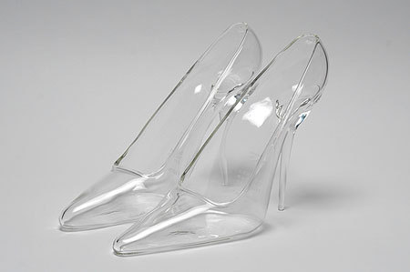 schaumann:  Maison Martin Margiela glass heels (literally Cinderellas glass slippers)