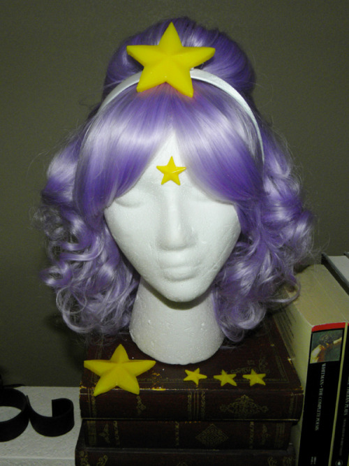 Lumpy Space Princess wig commission by *starlit-creations