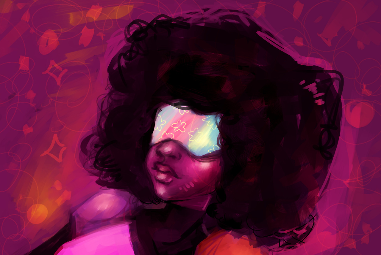 My favorite gem, Garnet~!