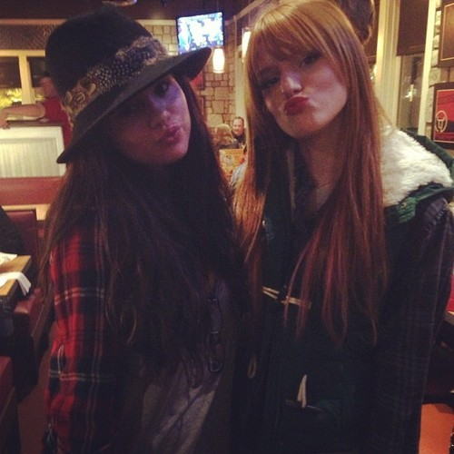 @bellathornelovesyou: 'AWWW Selena wished@theremythorne22 a happy birthday.. So sweet 🎁'