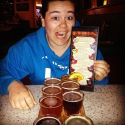 #microbrews #sampler #oggis #inheaven :)  (at Oggi's Pizza & Brewing Company)