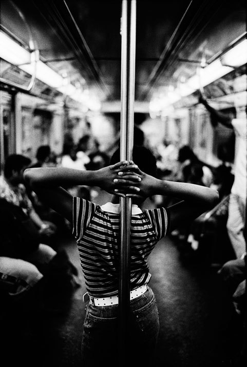"A-Train, Harlem, New York City, 2003 by Joseph Michael Lopez. From his series ""Dear New Yorker."""