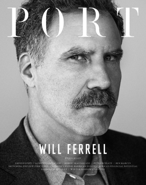 Port magazine, Winter 2013Will Farrell photograph: Tim Barber Source: Huffington Post