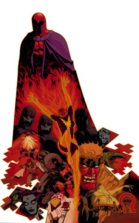 brianmichaelbendis:     X-Villains by Dave Johnson