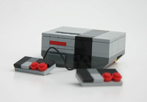 legollection:  All that's missing is a television with Super Mario Bros #lego #nintendo #retro