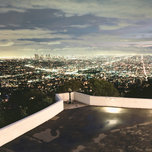 davetada:  Looking into the city Griffith Park, CA  Los Angeles, I love you.