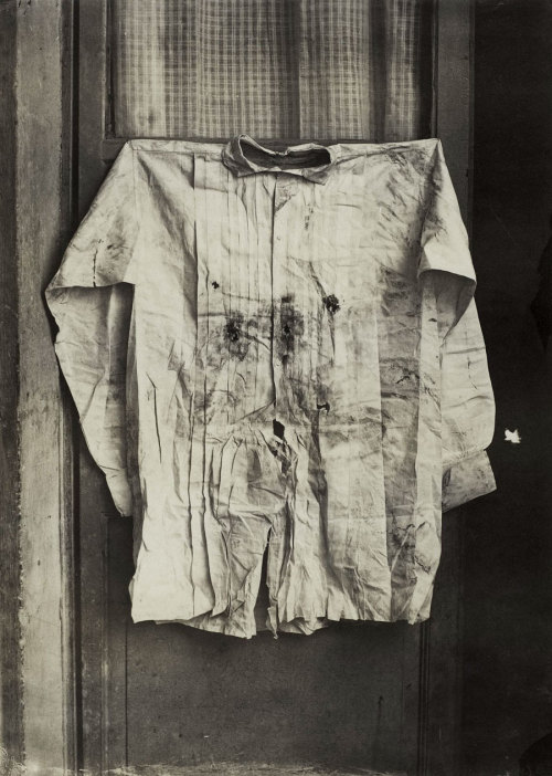 The Shirt of the Emperor, Worn during His Execution, Mexico, 1867 photo by Francois Aubert